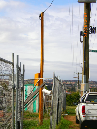 Power Pole Hire Melbourne Hire Power Pole Melbourne